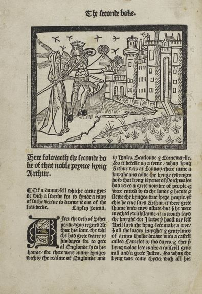 le morte darthur essays Introduction le morte d'arthur, completed in 1469 or 1470 and printed by caxton in abridged form in 1485, is the first major work of prose fiction in essay questions.