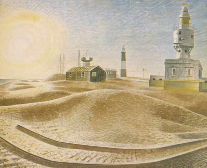Eric Ravilious Dungeness