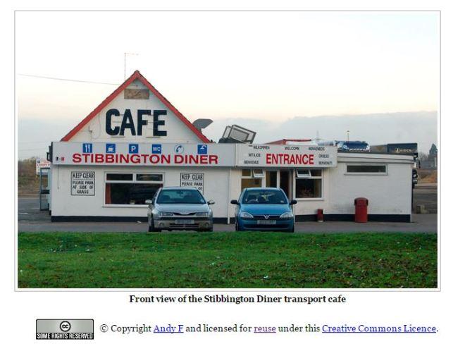 Stibbington Diner